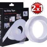 Ivy Grip Tape, nastro biadesivo: funziona o TRUFFA? Recensione, Opinioni e Offerta 2x1